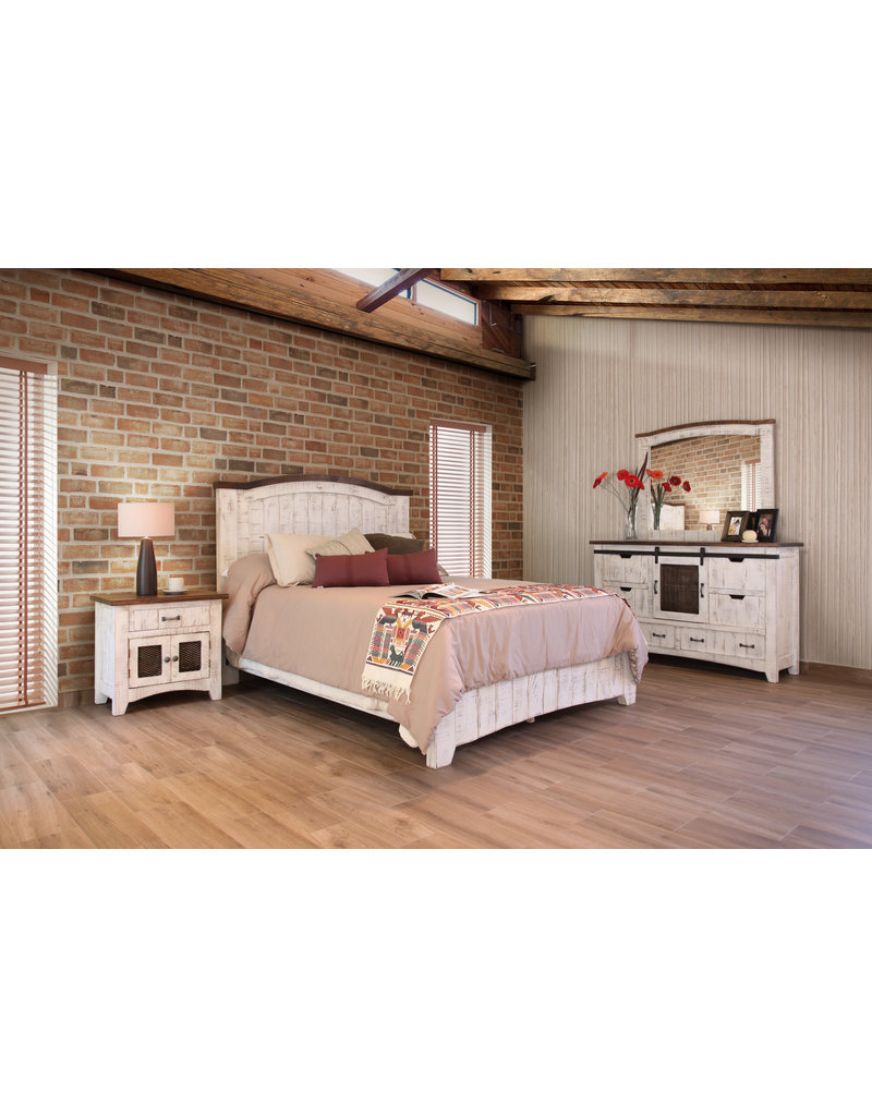 Pueblo White Bedroom