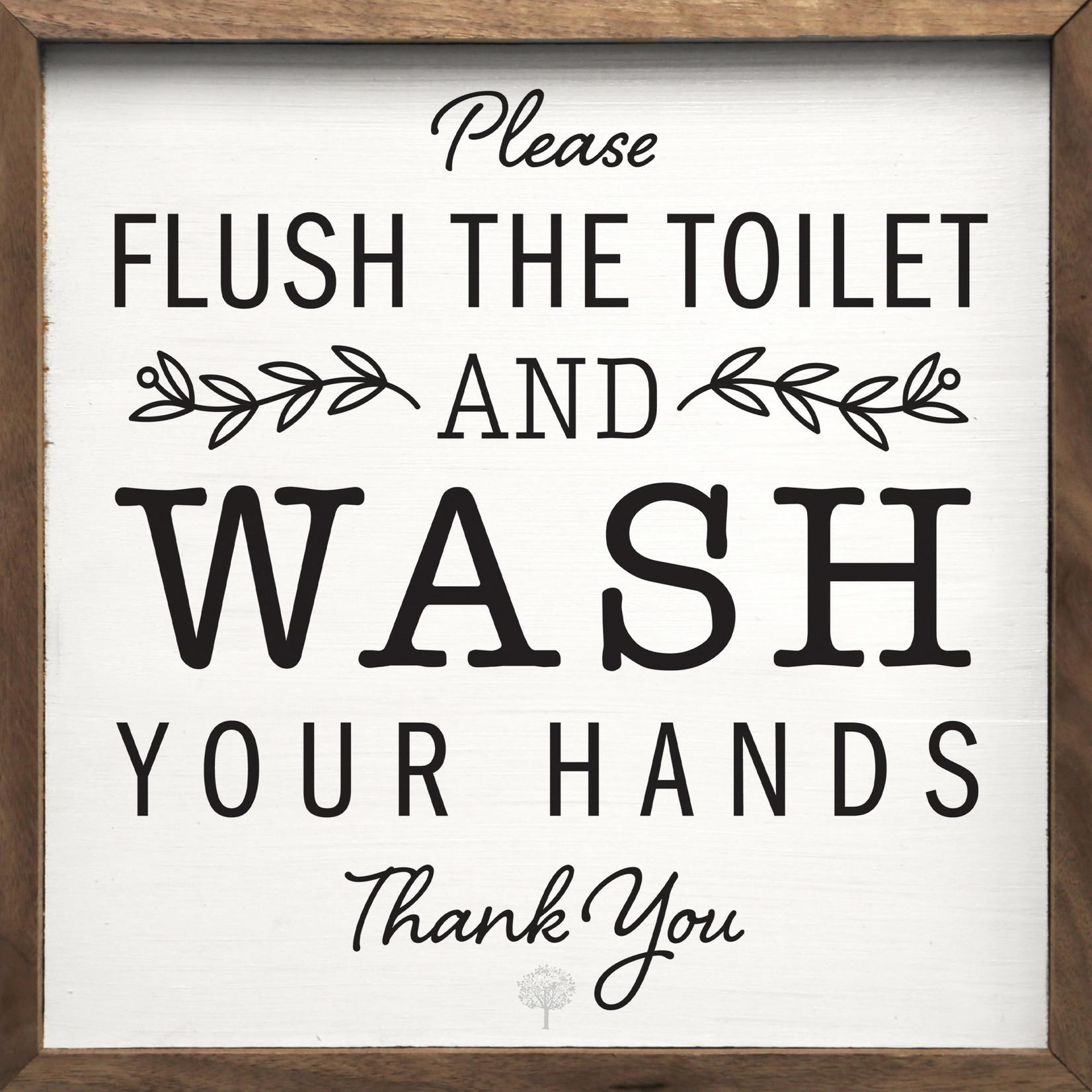 Flush The Toilet 8x8