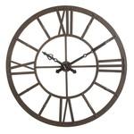 "Metal Rust Finish Clock 47-1/2"""