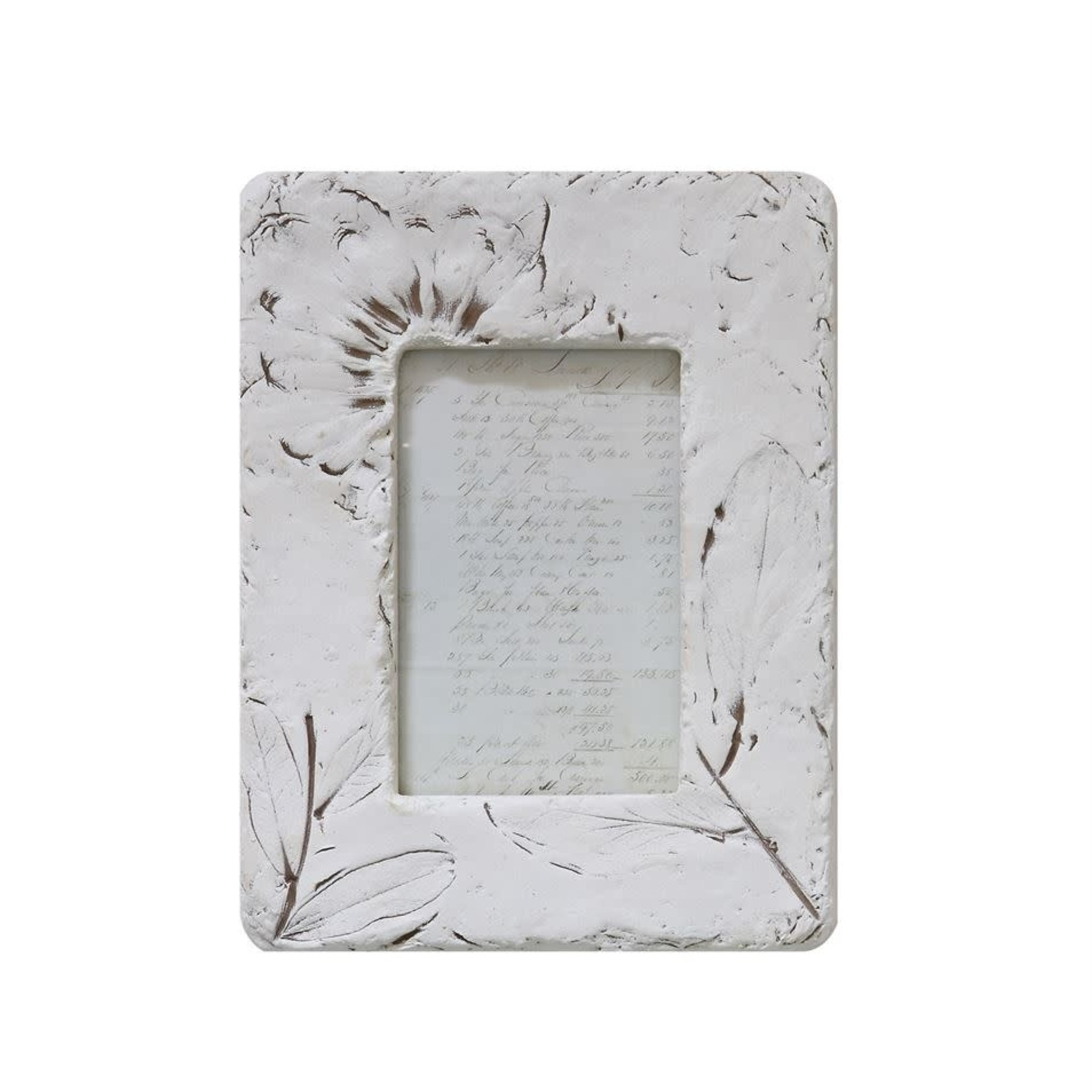 """Resin Photo Frame with Wildflowers 4""""x6"""""""