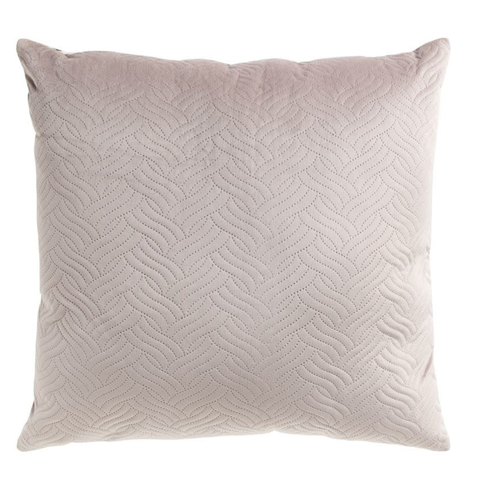 """24"""" Grey Velvet Pillow"""