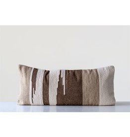 Hand Woven Wool Kilm Lumbar Pillow