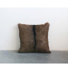 "20"" Goat Fur Pillow"