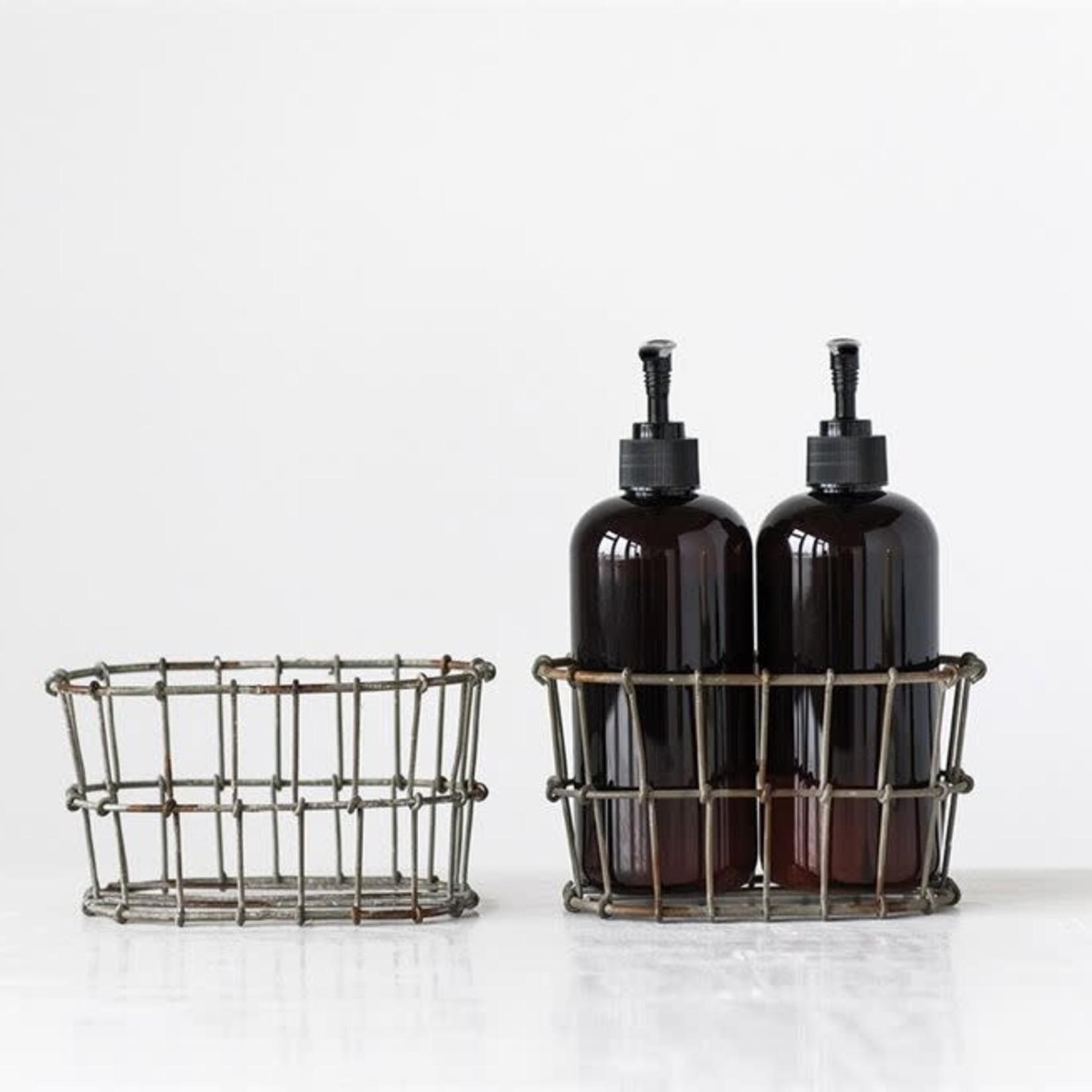 Wire Basket Lotion/Soap Holder