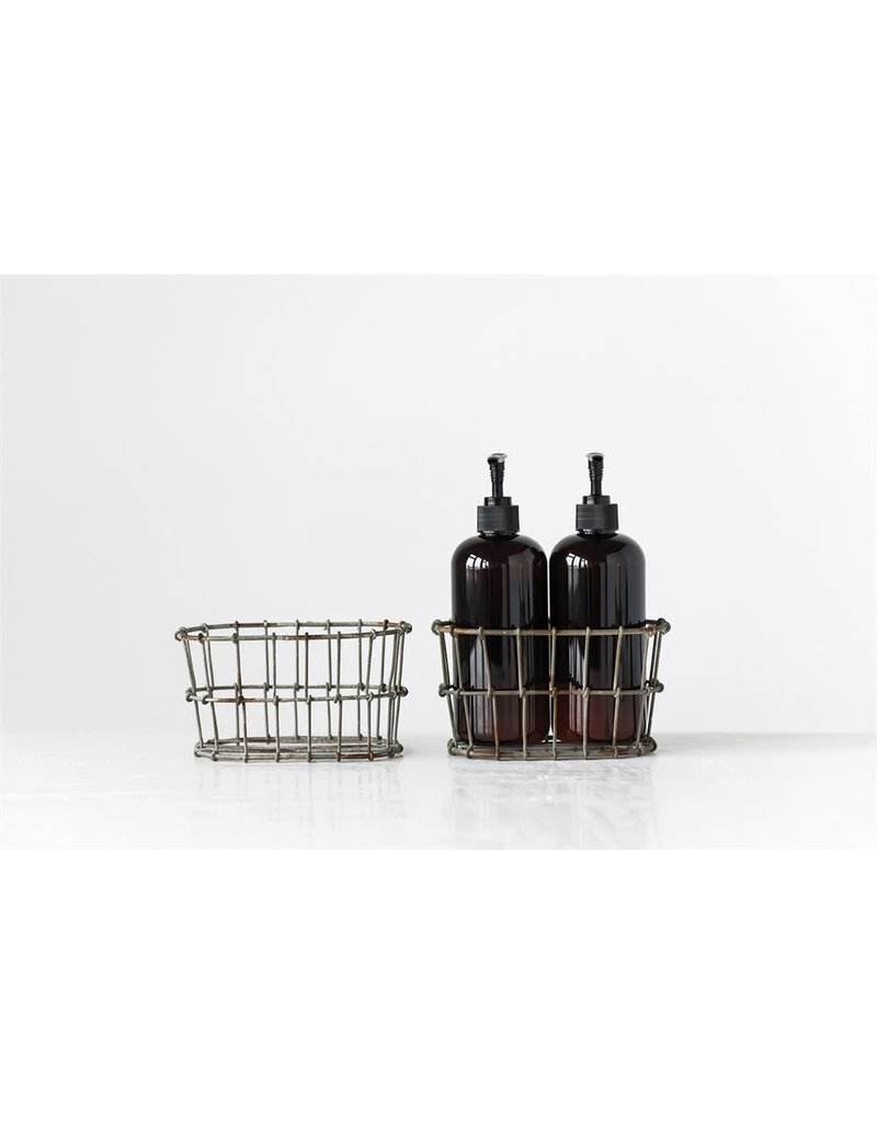 Wire Basket Lotion/Soap Holder