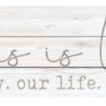 This Is Us Pallet Sign HPL0002