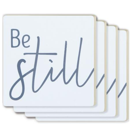 Be Still Coasters - 4 Pack