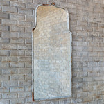Metal Framed Keyhole Mirror