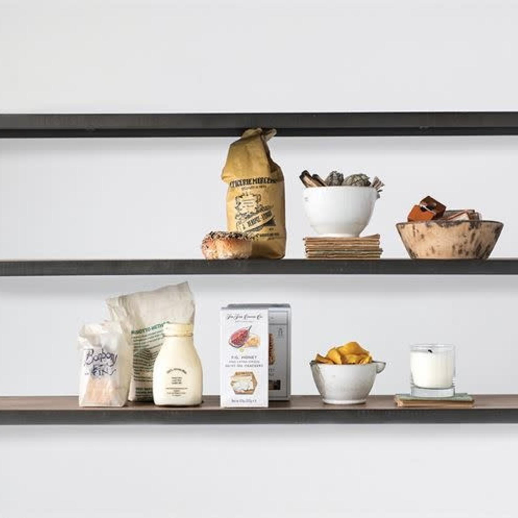 Wood and Metal 3-Tier Shelf DF1805