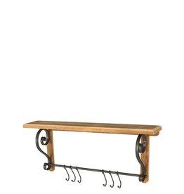 Shelves Shelf Unit With Hooks N2296