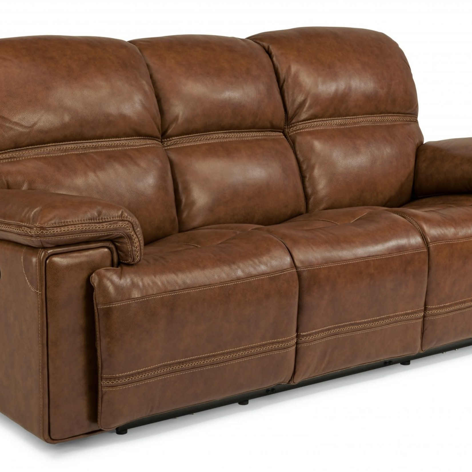 Fenwick Leather Power Reclining Sofa