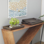 Brown Wood Tray