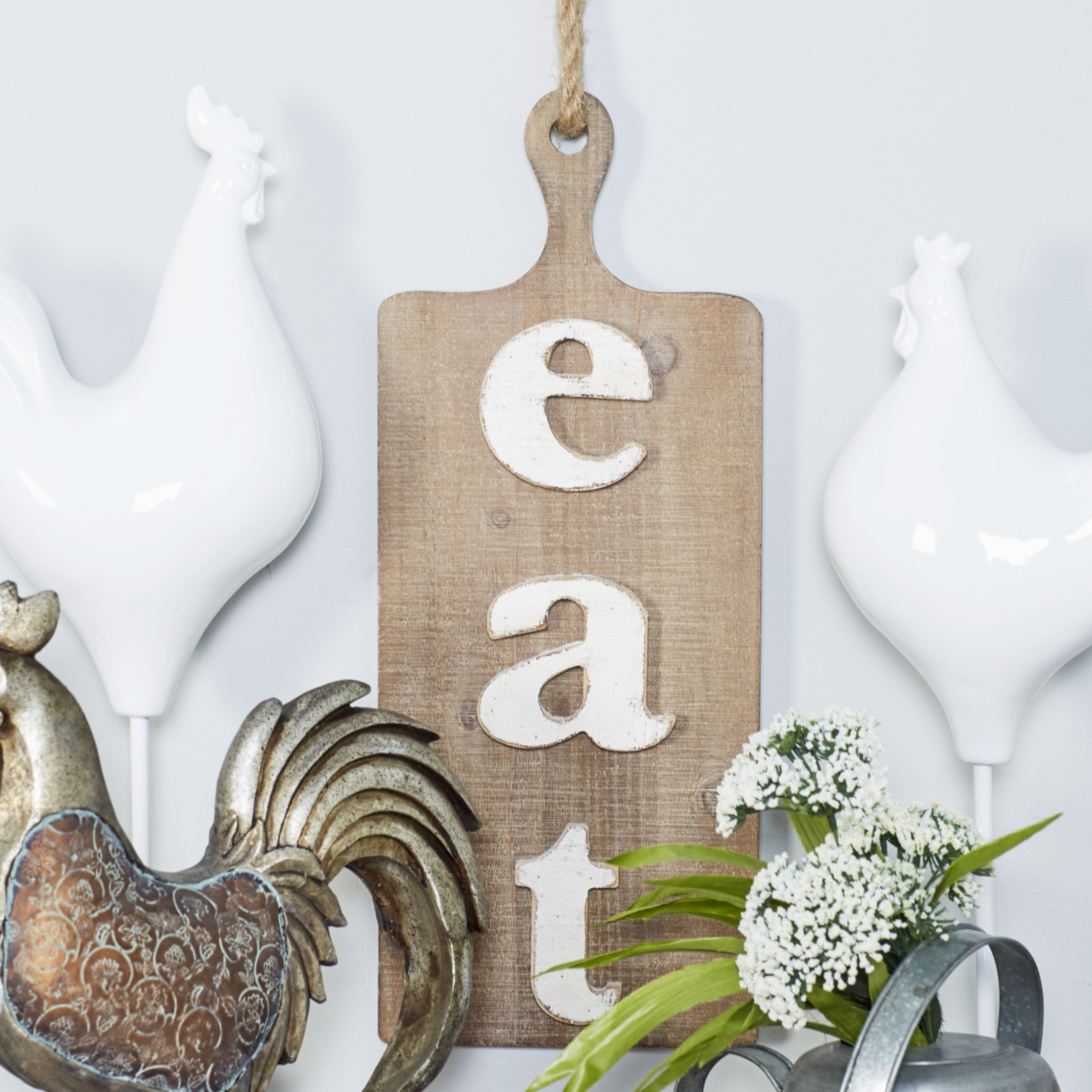 Eat Wooden Sign 98470