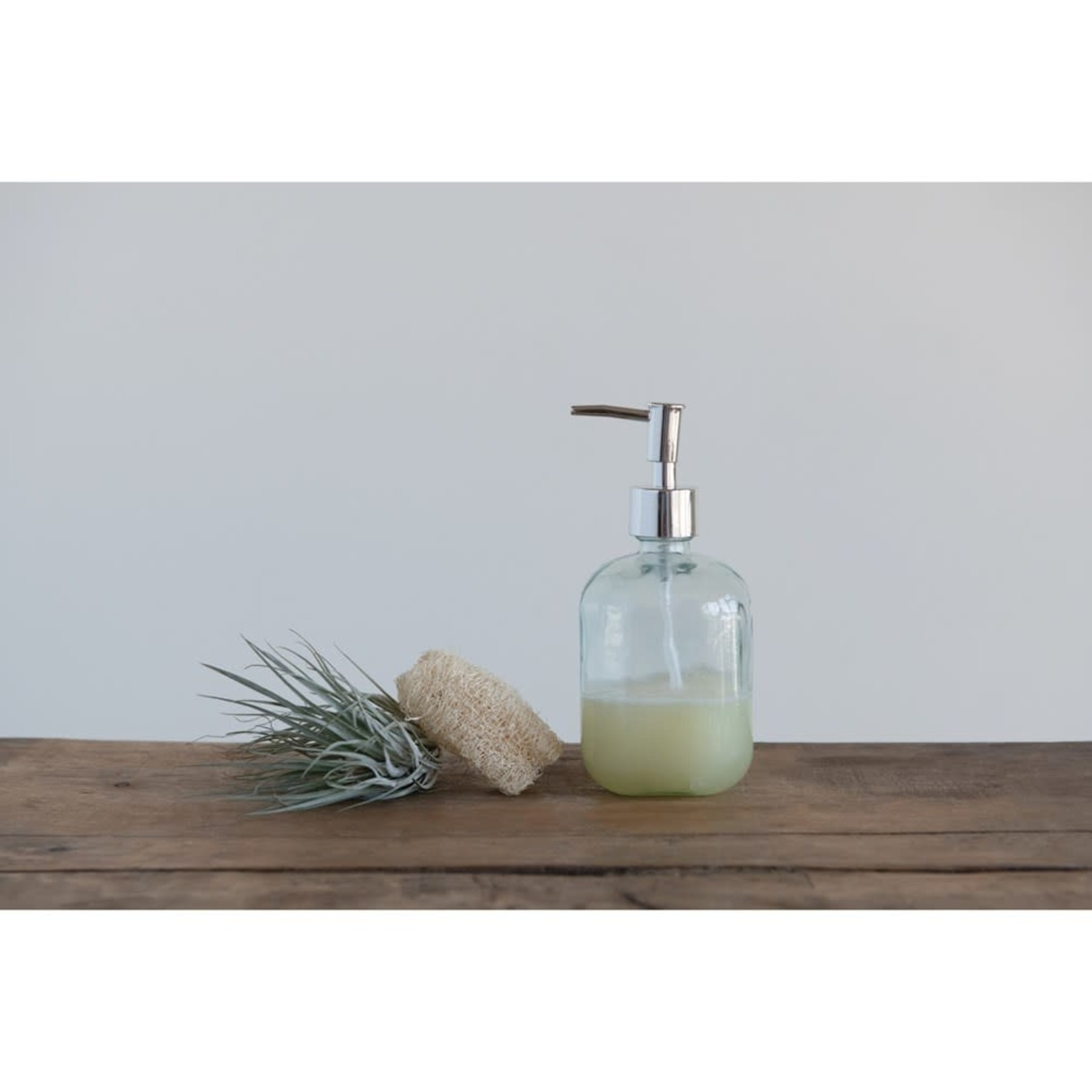 Recycled Glass Soap Bottle