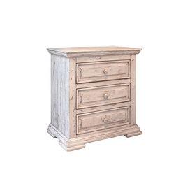 Terra White Bedroom  Nightstand FLOOR MODEL