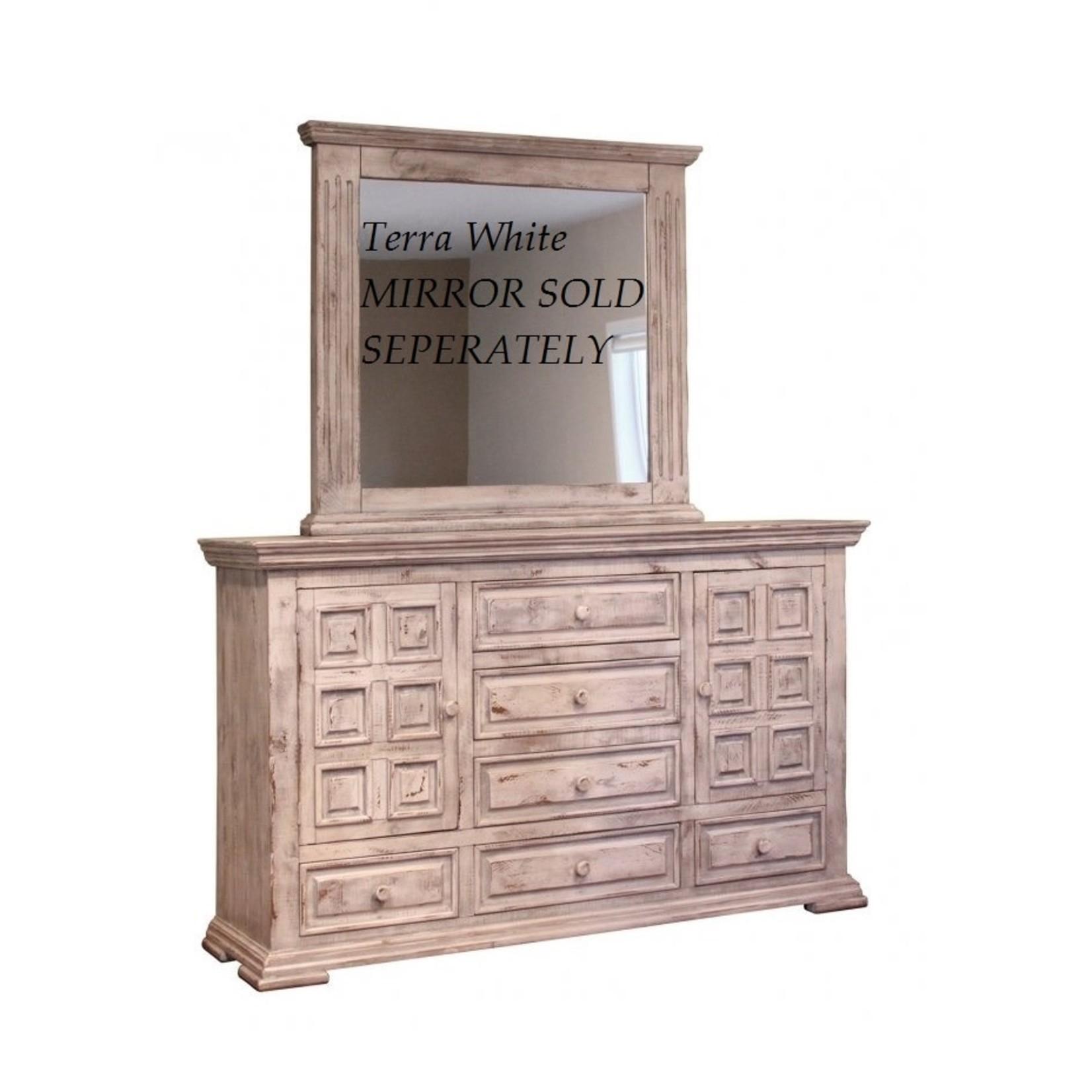 Terra White Bedroom  Dresser FLOOR MODEL