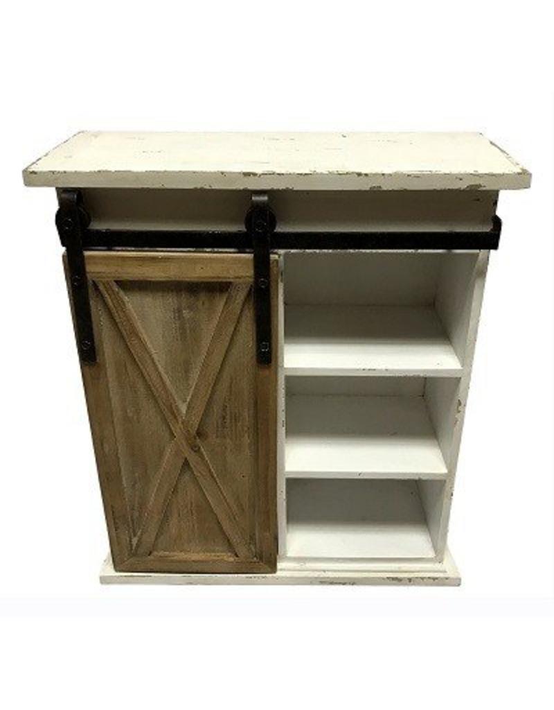 Moonlight Stables Sliding Barn Door Storage Cabinet Dirt Road Rustics Furniture And Home Decor