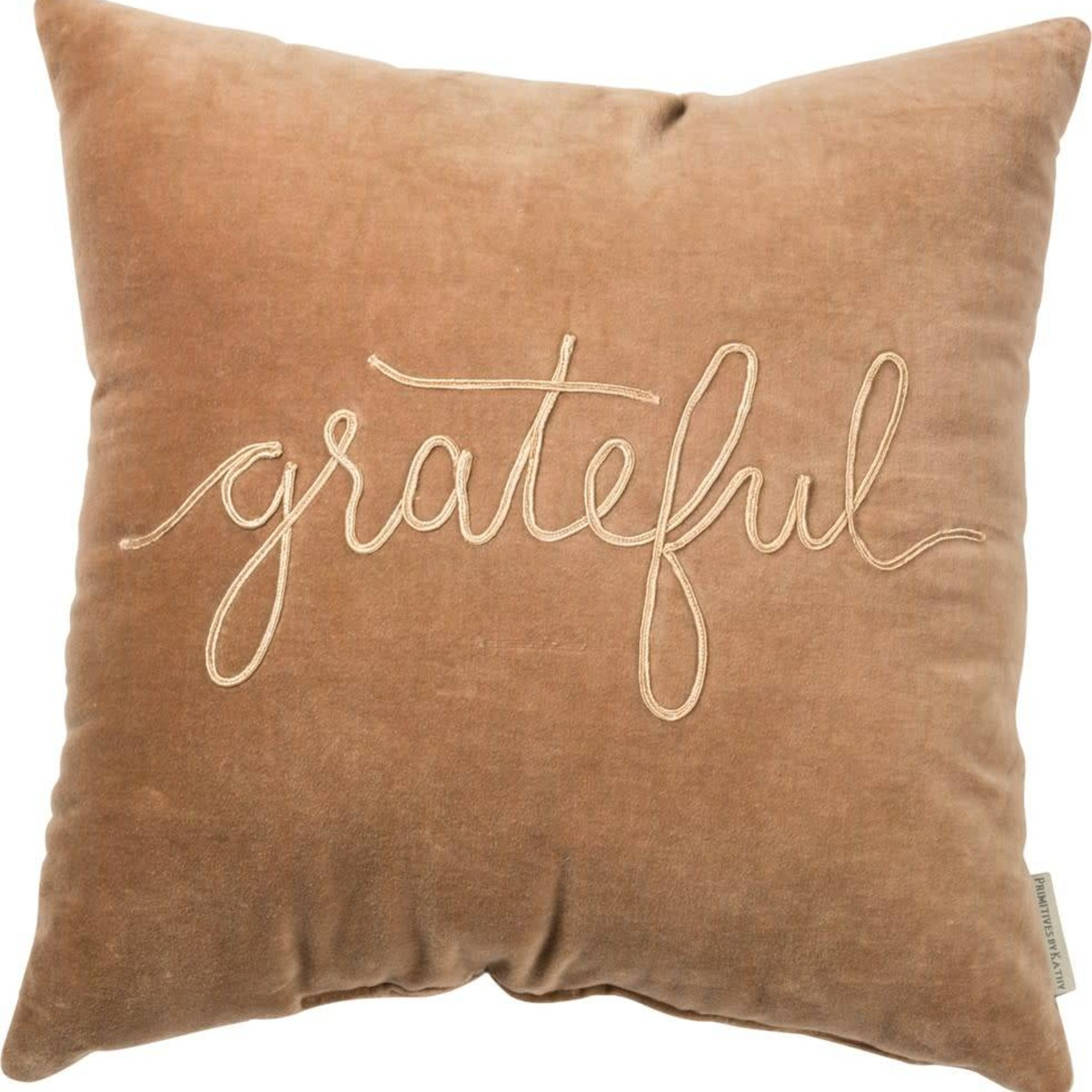 Grateful Velvet Pillow