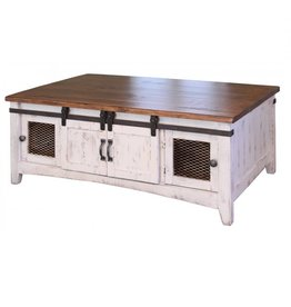 Pueblo White Coffee Table