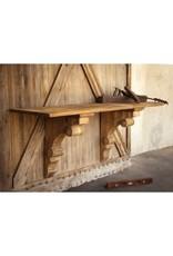 Wooden Corbel Shelf