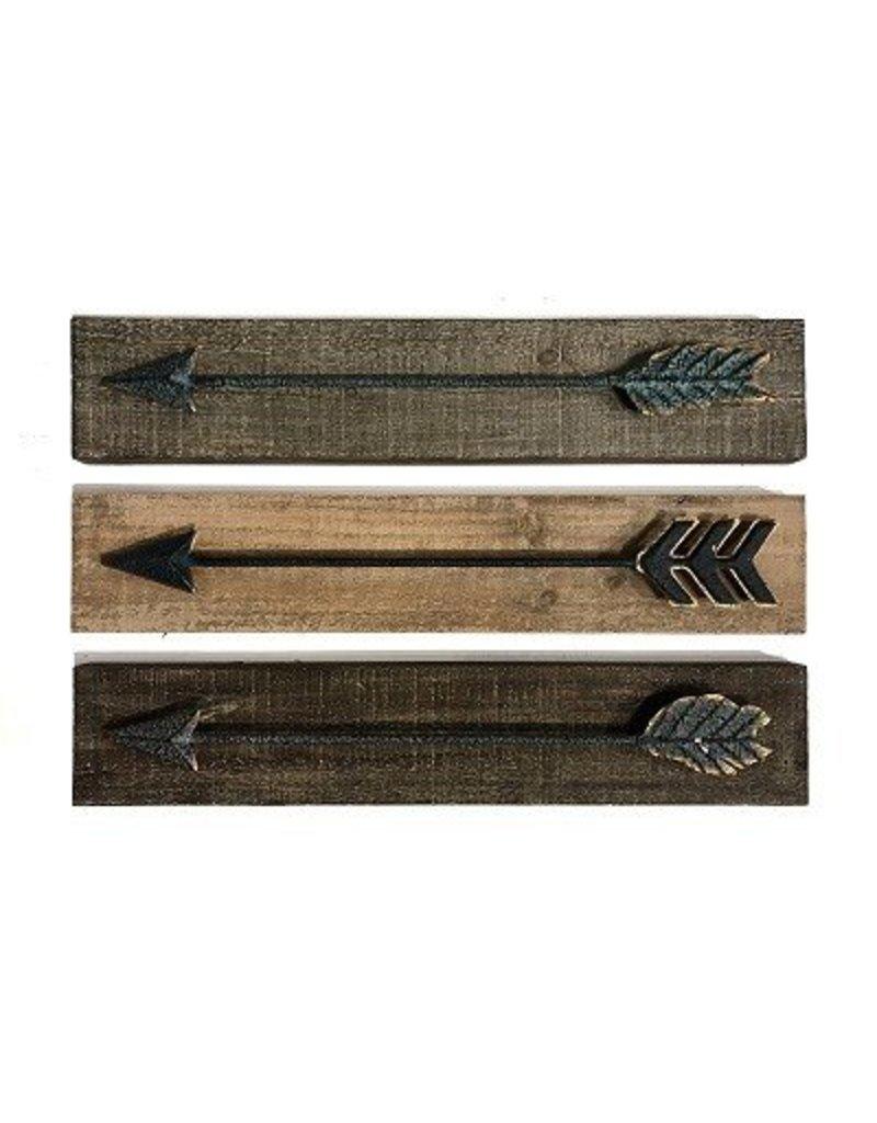 Wood/Metal Arrow Wall Art 20024