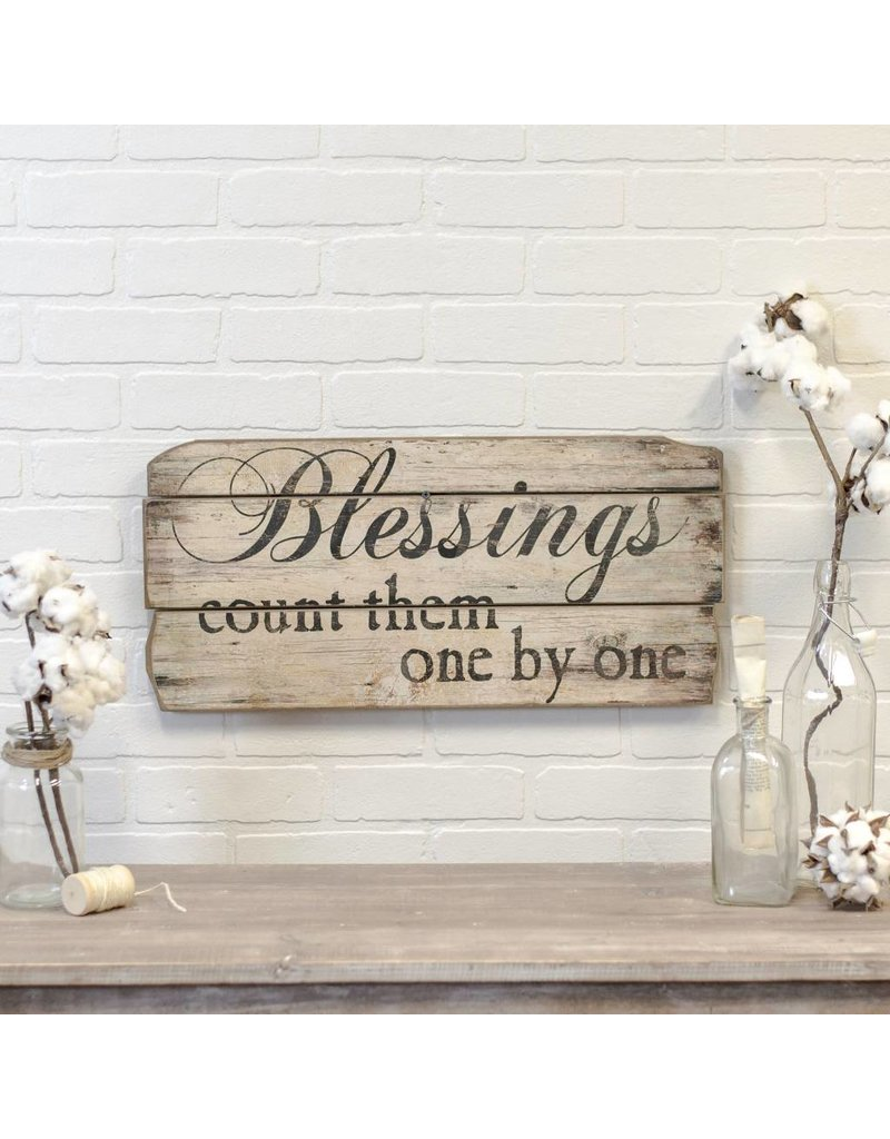 Blessings Wood Sign MT1324