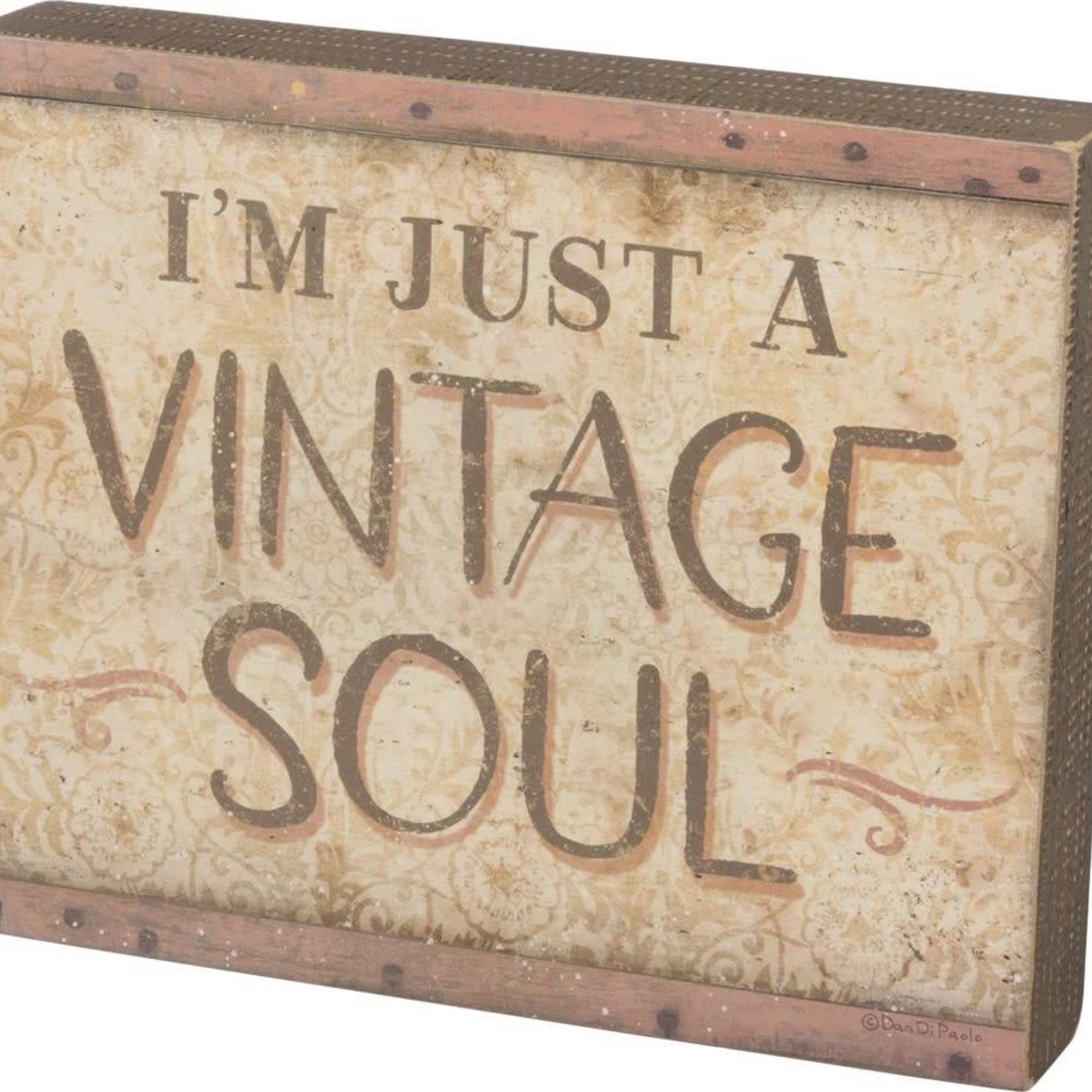 I'm Just A Vintage Soul 100276