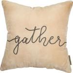 Gather Velvet Pillow