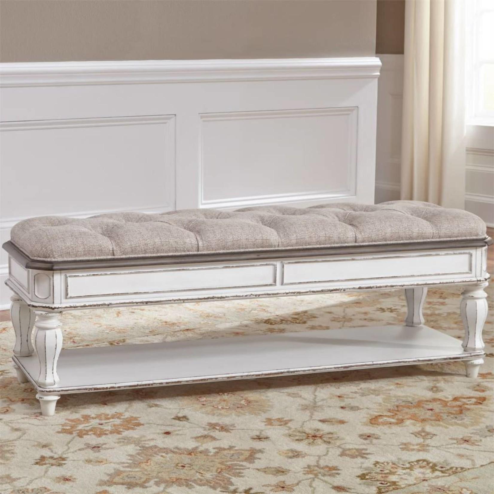 Magnolia Manor Bed Bench