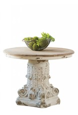 Dining Table Round Pedestal Table
