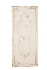 White Wall Plaque 14894