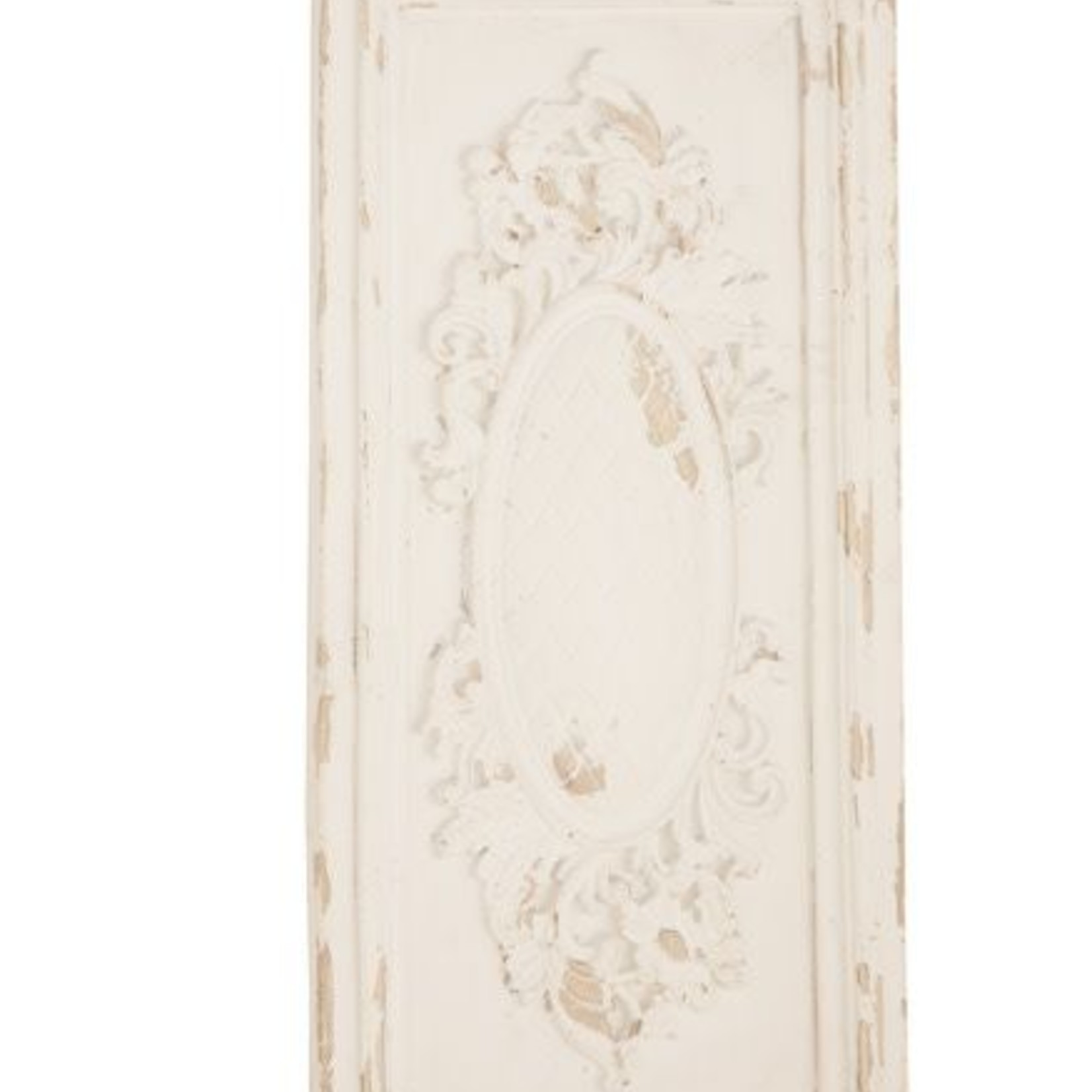 White Wall Plaque 14896