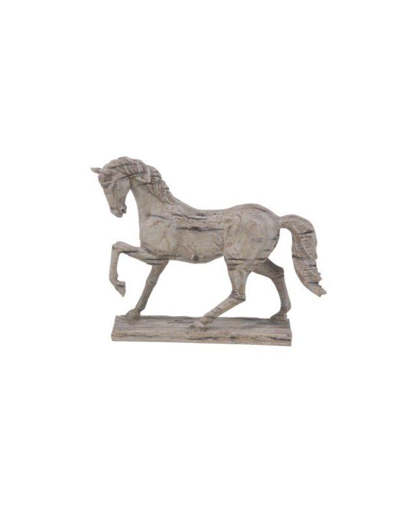 Stone Horse Decor 38275