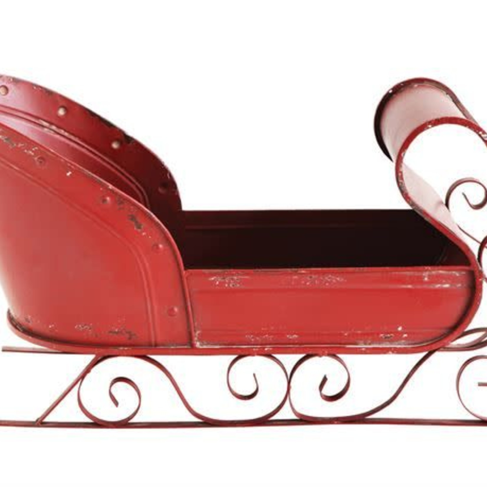 Metal Sleigh, Red XM2726