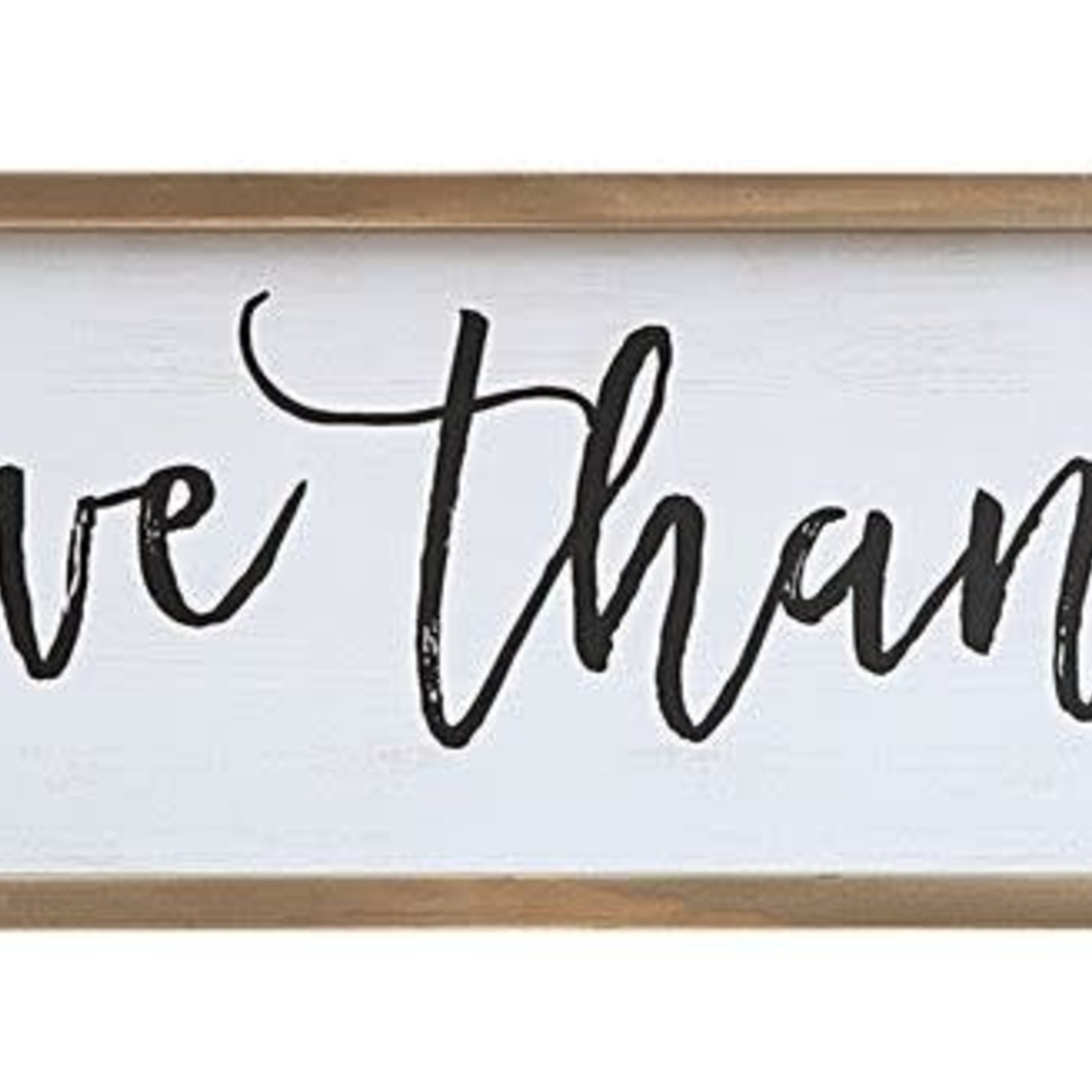 Give Thanks Framed Wall Art CF3085