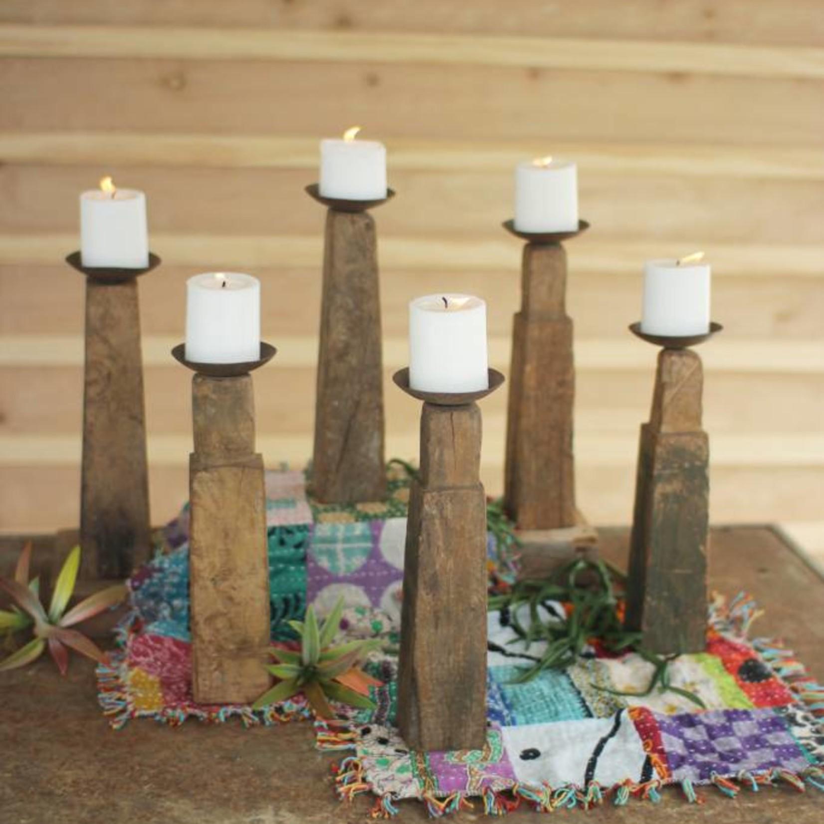 Repurposed Wooden Furniture Leg Candle Holder NBF2458