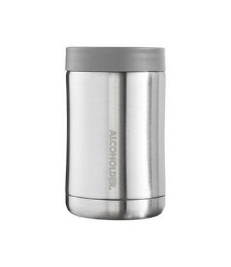StubZero Bottle/Can Cooler Stainless Silver