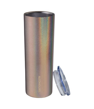TraVino Slim Insulated Tumbler-ROSE GOLD