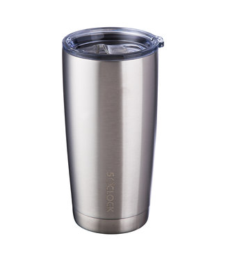TraVino STAINLESS INSULATED TUMBLER 590ml-SILVER