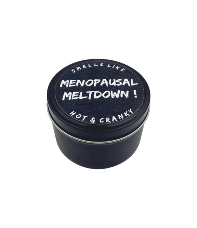 EXPLICIT BODY CARE MENOPAUSAL MELTDOWN - CANDLE TIN