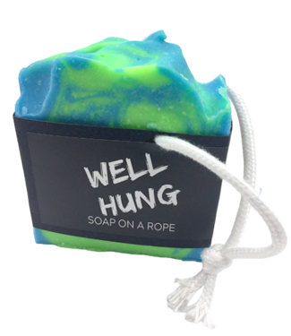EXPLICIT BODY CARE WELL HUNG - SOAP ON A ROPE