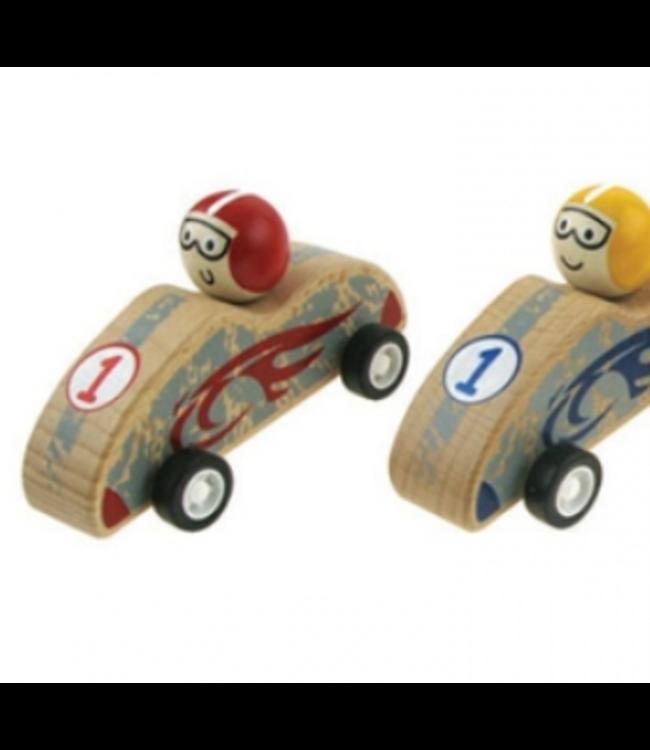 PULLBACK RACING CAR - RED