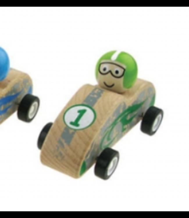 PULLBACK RACING CAR - GREEN