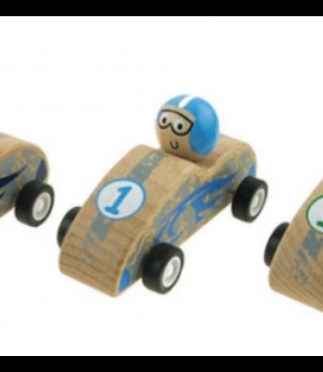 PULLBACK RACING CAR - BLUE