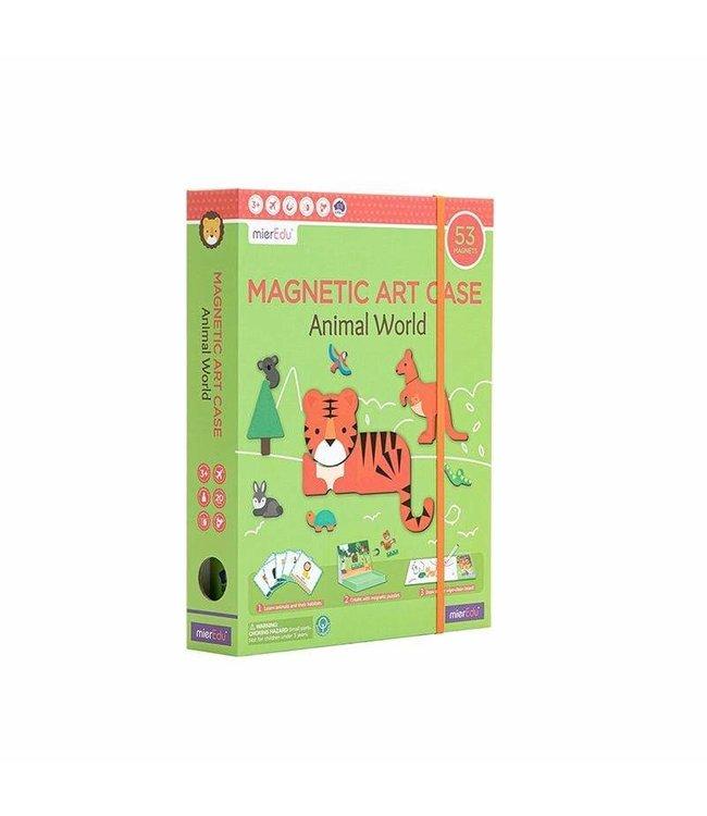 MAGNETIC ART CASE - ANIMAL WORLD