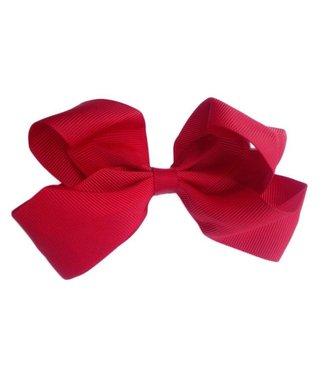 Sister Bows RED HAIR BOW