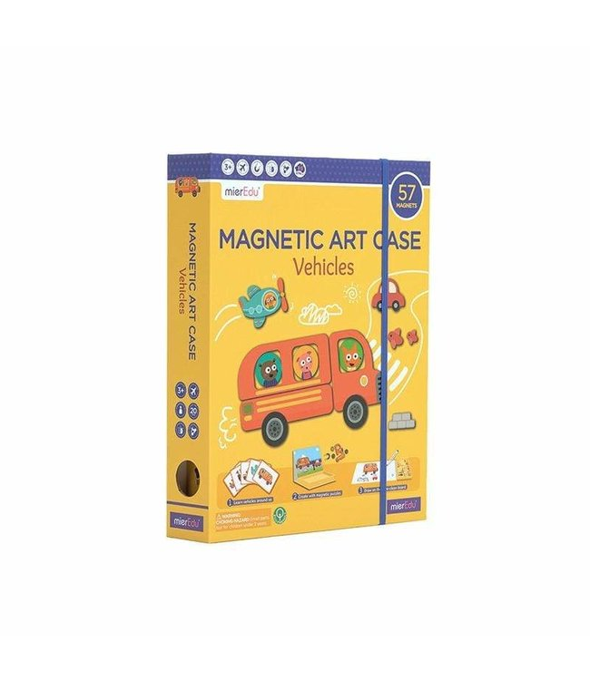 MAGNETIC ART CASE - VECHICLES