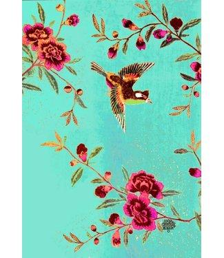 Anna Chandler Designs CHINTZ BIRD - TEATOWEL