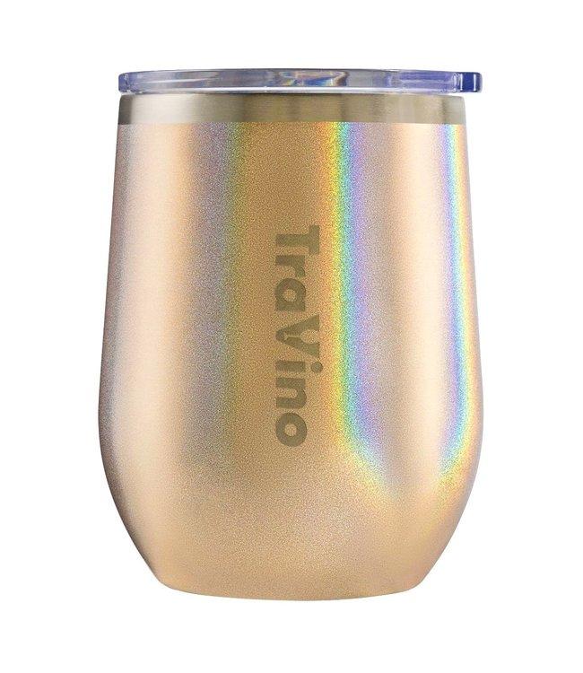 TraVino STEMLESS - Glitter-GOLD