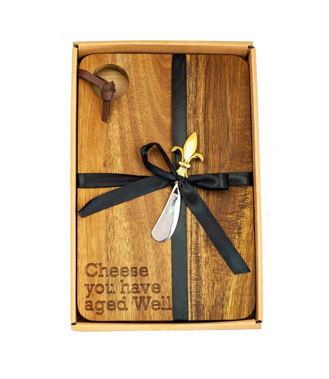 CHEESE BOARD - CHEESE YOU HAVE AGED WELL